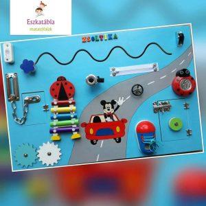 Mickey egeres matatófal 40*60 cm festett hátterű